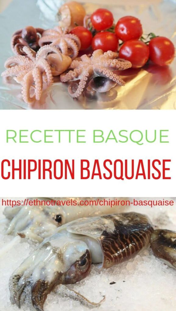 Chipiron basquaise