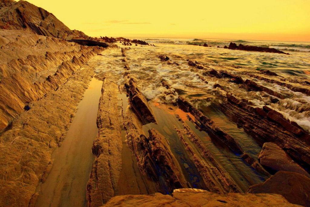 Zumaia plage de Sakoneta