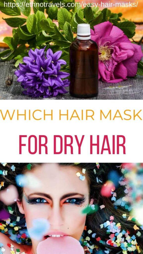 Easy hair masks for dry damaged hair
