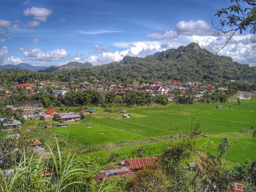 Rantepao Tana toraja Sulawesi Indonésie