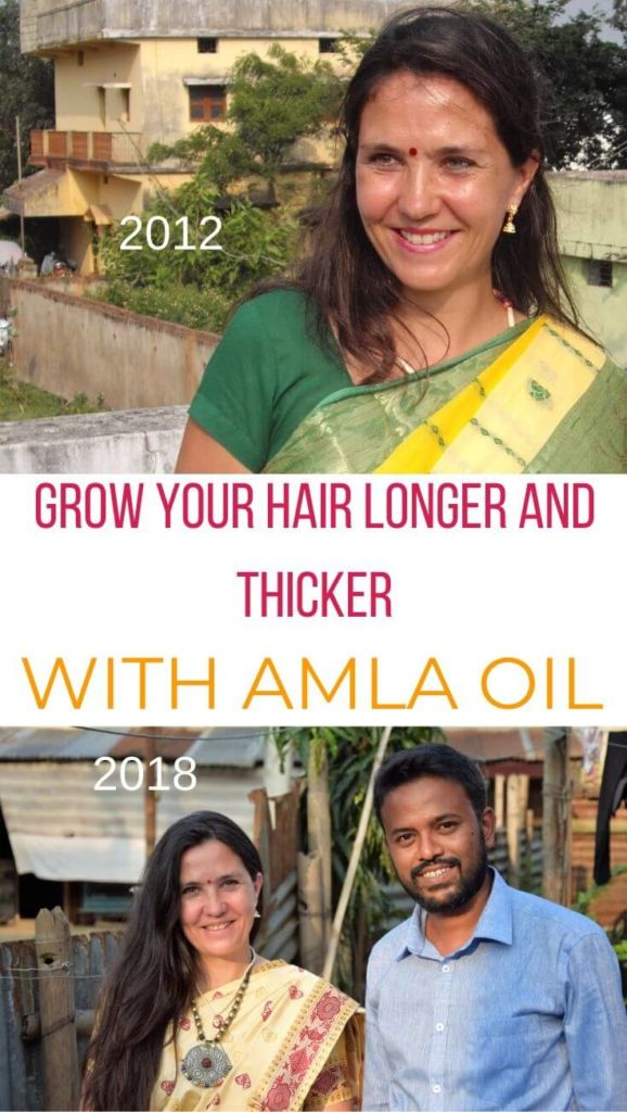 How to stimulate hair growth with amla oil