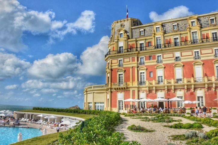 Best luxury hotels in Biarritz France