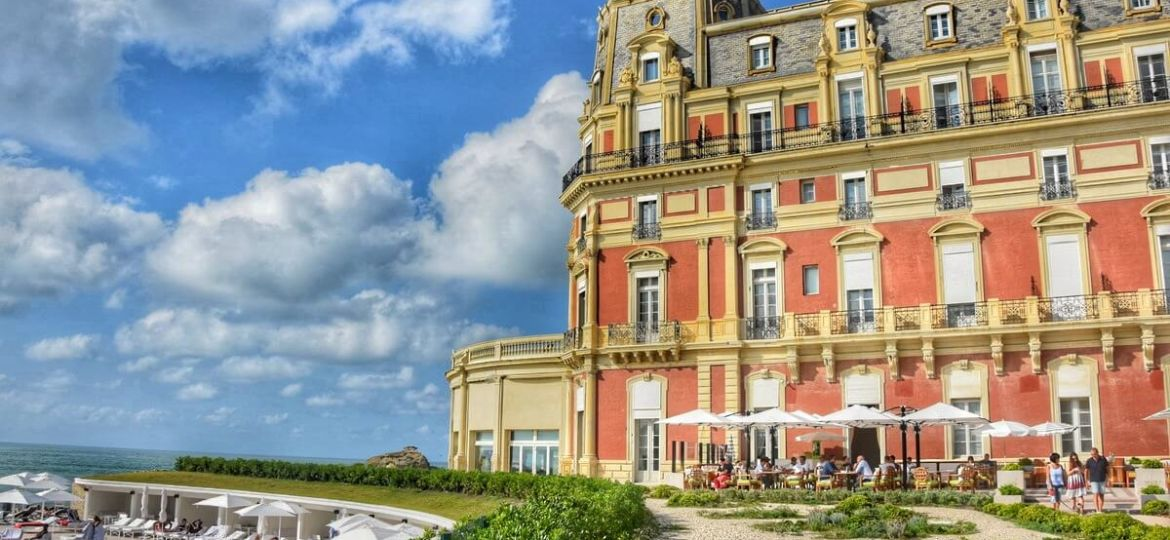 Best luxury hotels in Biarritz France