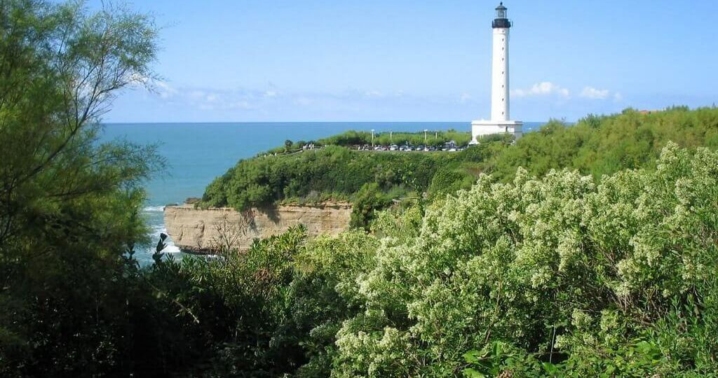 Biarritz lighouse on Cap Saint Martin