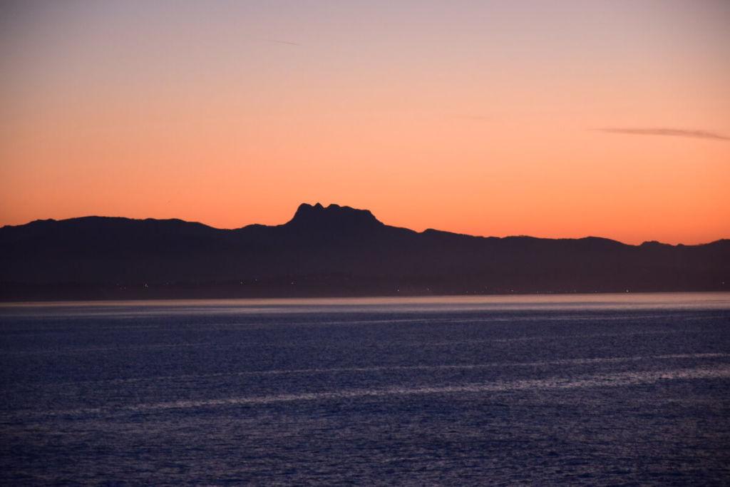 Montagne des 3 Couronnes au coucher du soleil