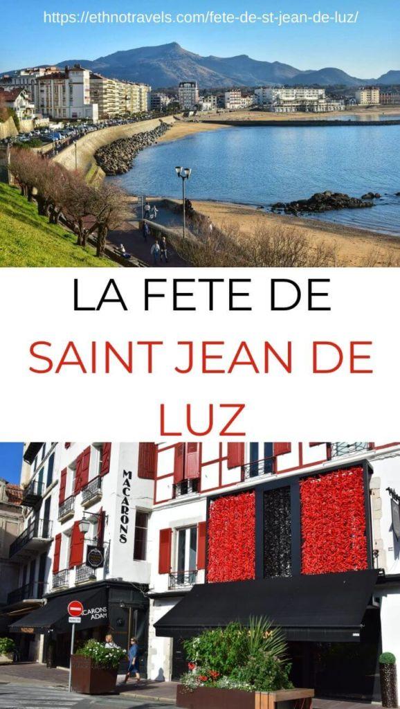 Pin Fete de Saint Jean de Luz