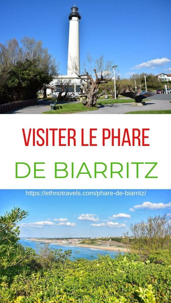 Pin phare de Biarritz