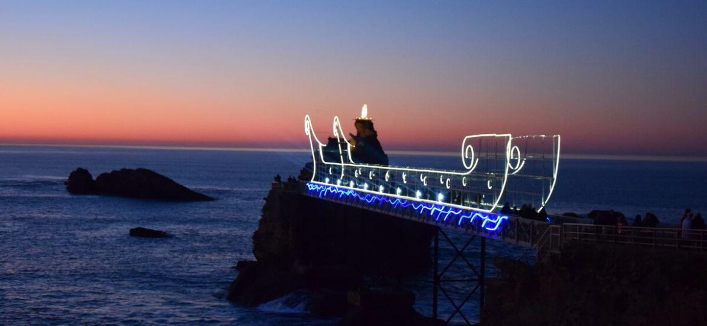 Rocher de la Vierge Biarritz Basque Country