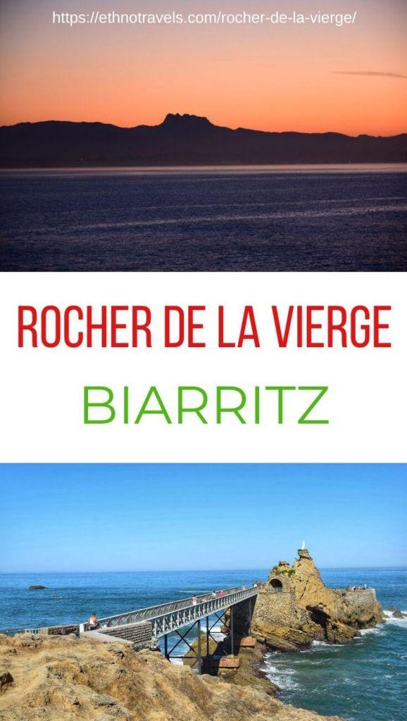 Pin Rocher de la Vierge Biarritz Pays Basque