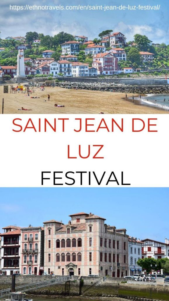 Pin Saint Jean de Luz festival