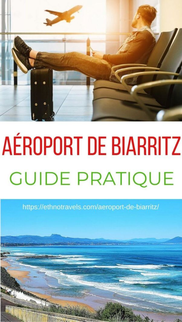Pin aeroport de Biarritz