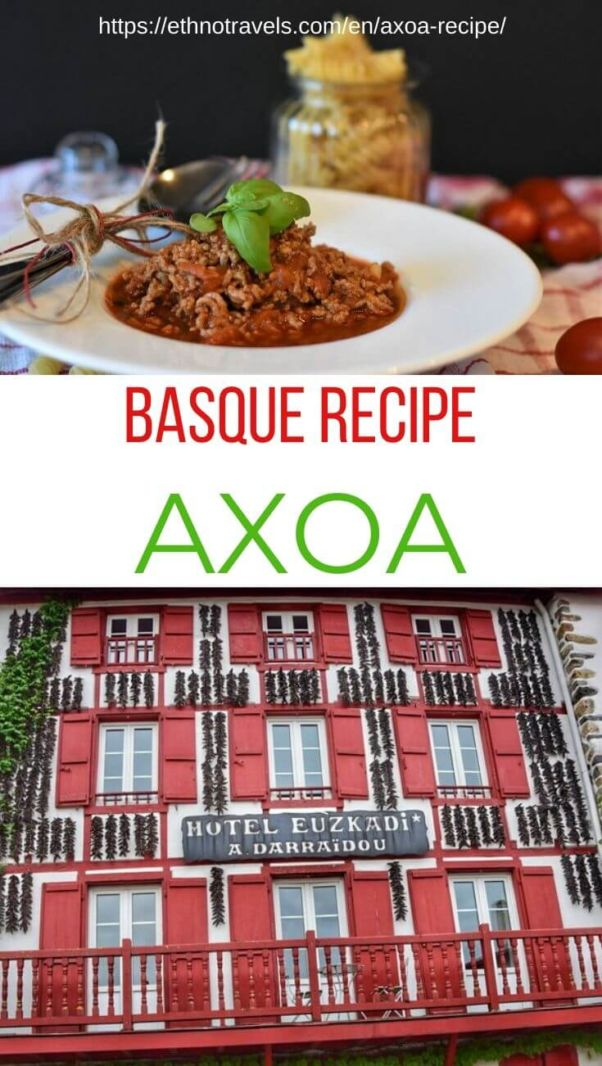 Pin Axoa Basque recipe