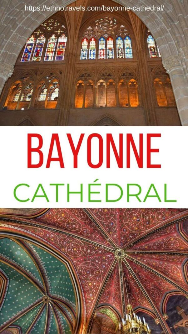 Bayonne Cathedral pin