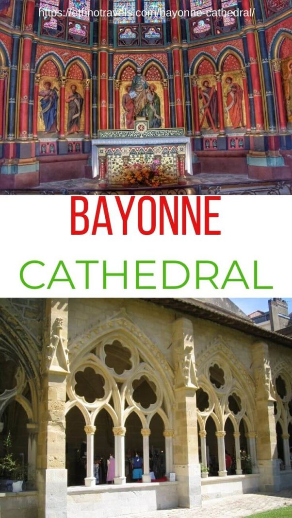 Pin Bayonne cathedral France