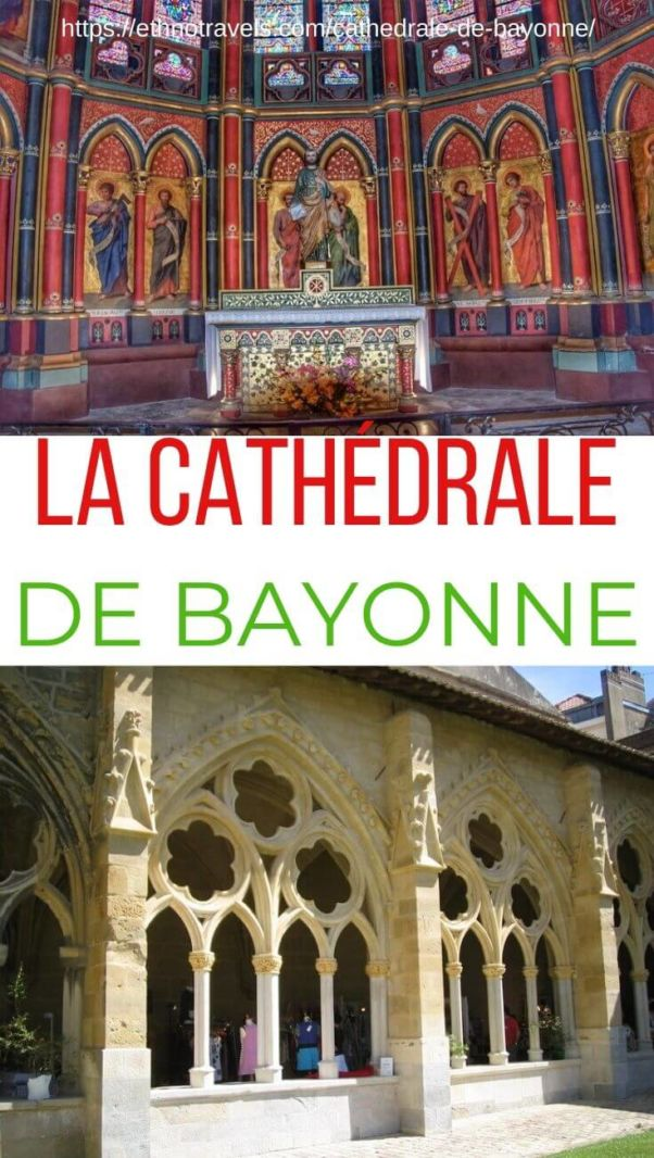 Epingle cathédrale de Bayonne