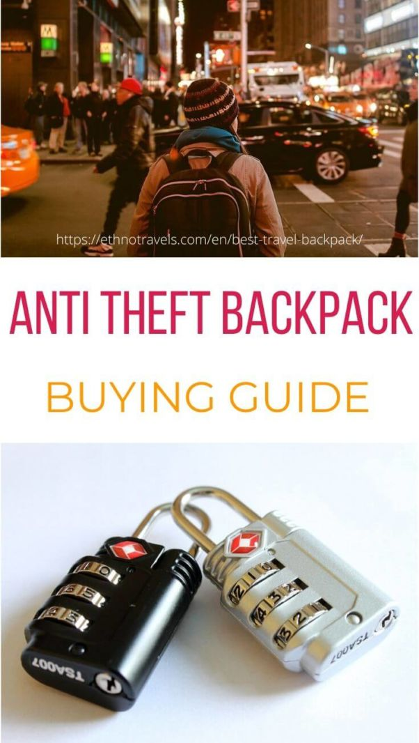 Best anti theft backpacks buying guide