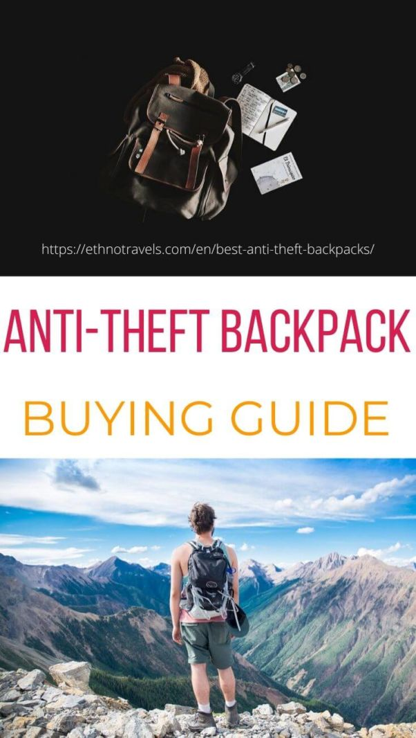 Anti theft backpacks buying guide