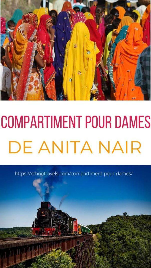 Critique du livre Compartiment pour dames Anita Nair