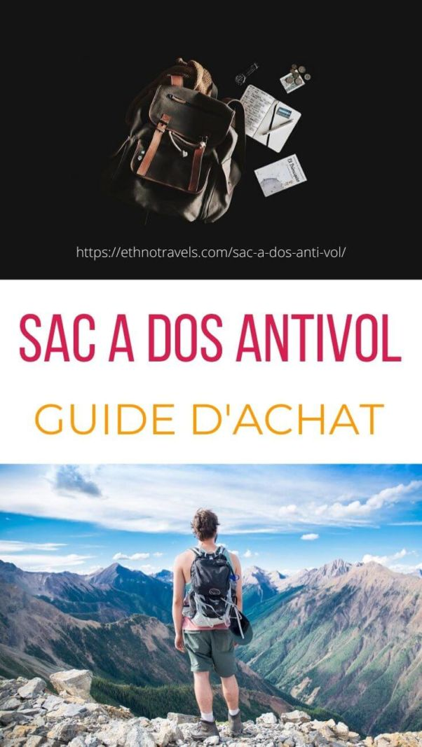Sac a dos anti vol comparatif