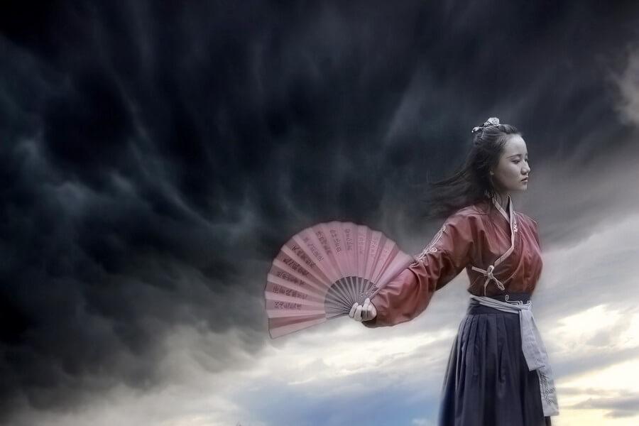 La légende chinoise décrite par Pu Songling