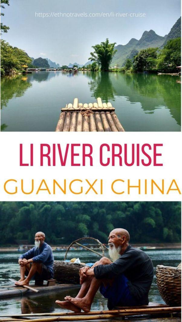 Cruising Li River Xingping Yangshuo