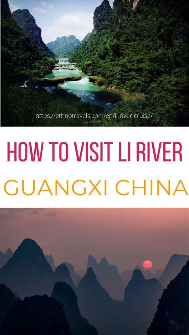 Li River cruise China