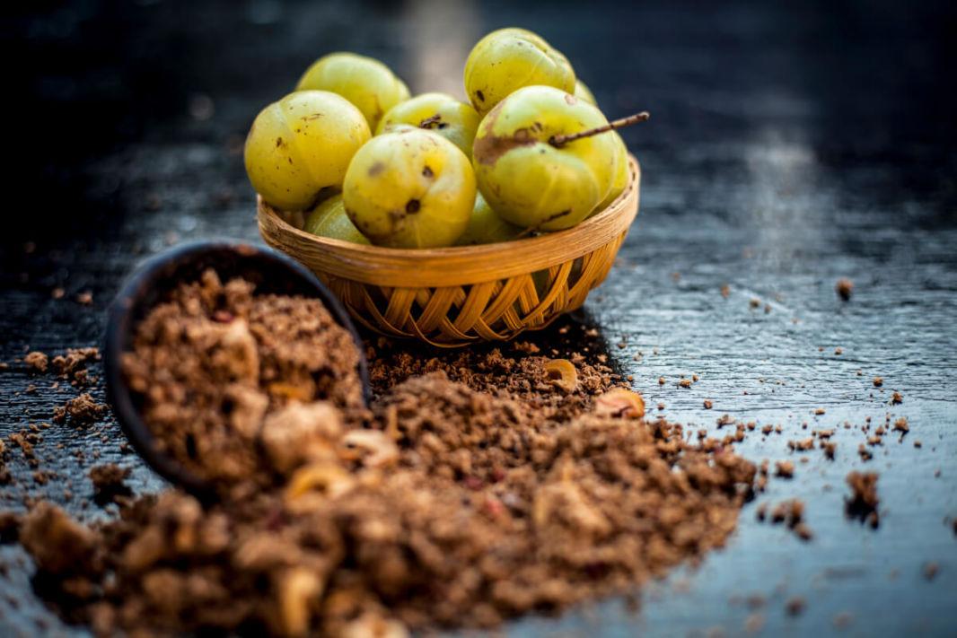 Poudre amla et fruits