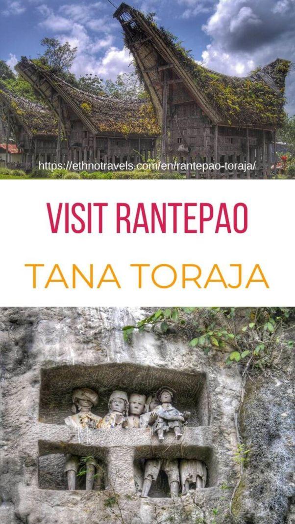 Visit Rantepao Toraja Indonesia