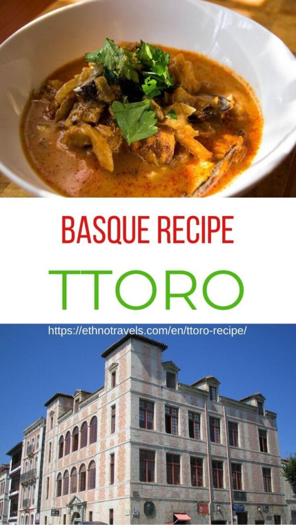 Basque ttoro recipe
