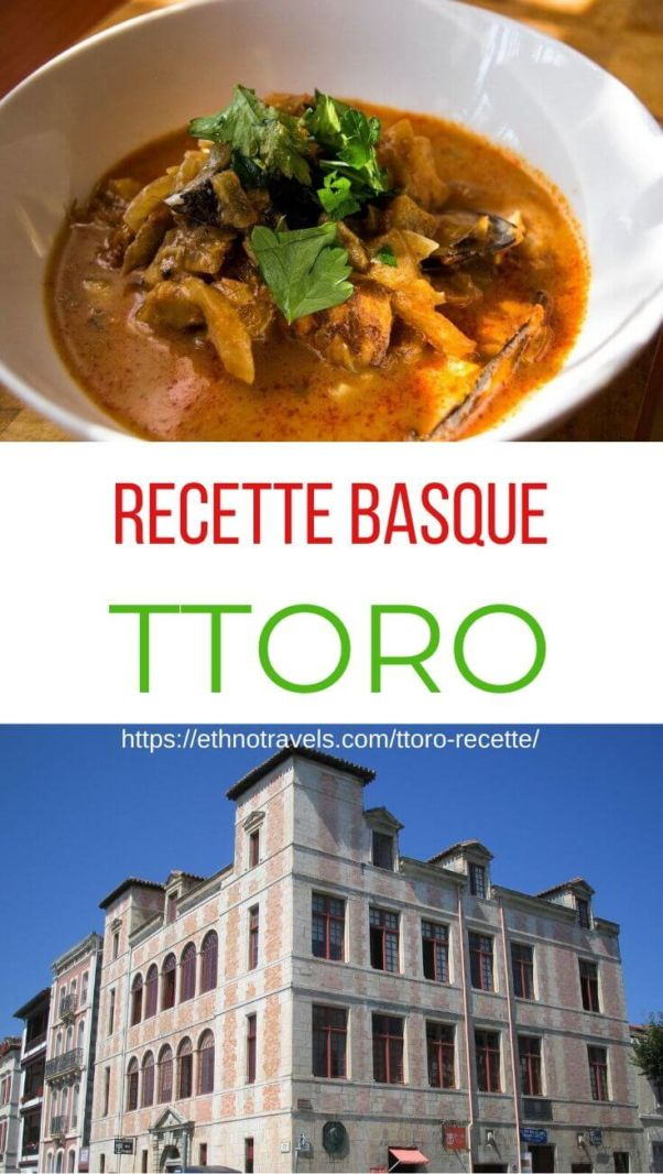 Ttoro recette soupe basque