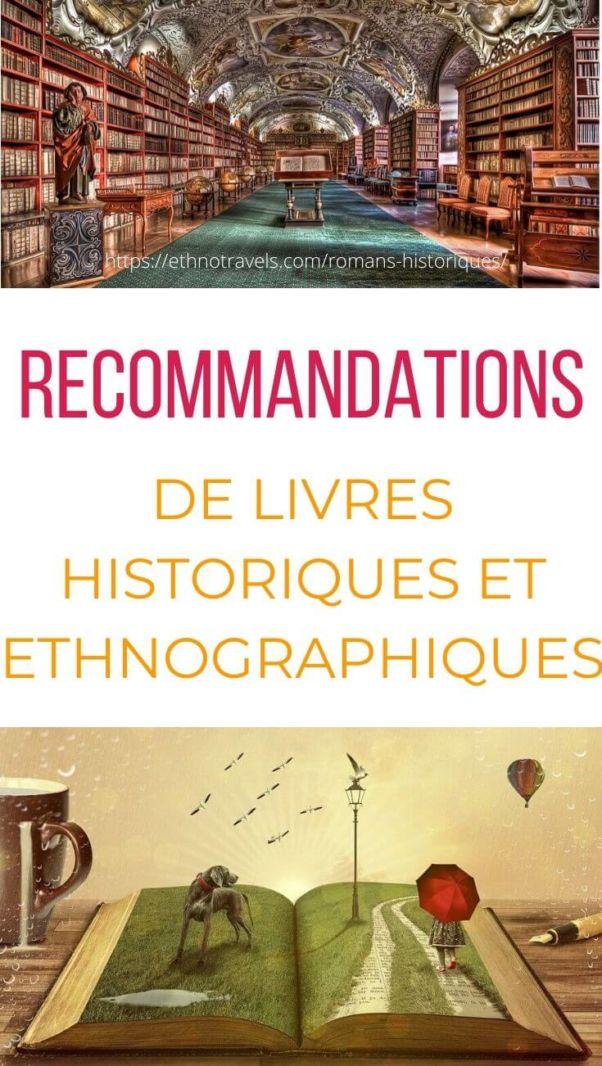 Critiques de romans historiques et ethnographiques