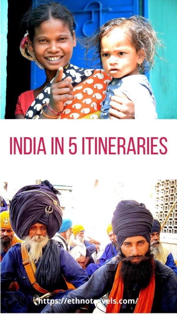 India itinerary 3 weeks