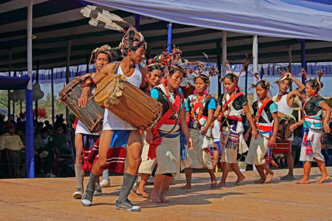 Tribu Tutsa Tangsa - Naga - d'Arunachal Pradesh