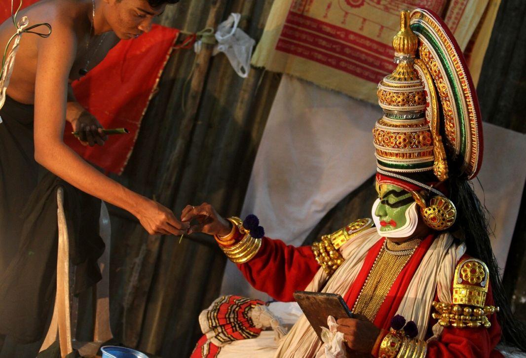 Découvrir le kathakali en visitant l'Inde