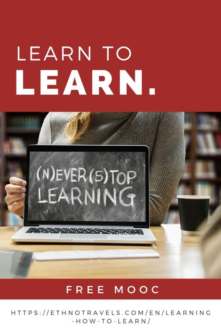 Free MOOC on learning how to learn