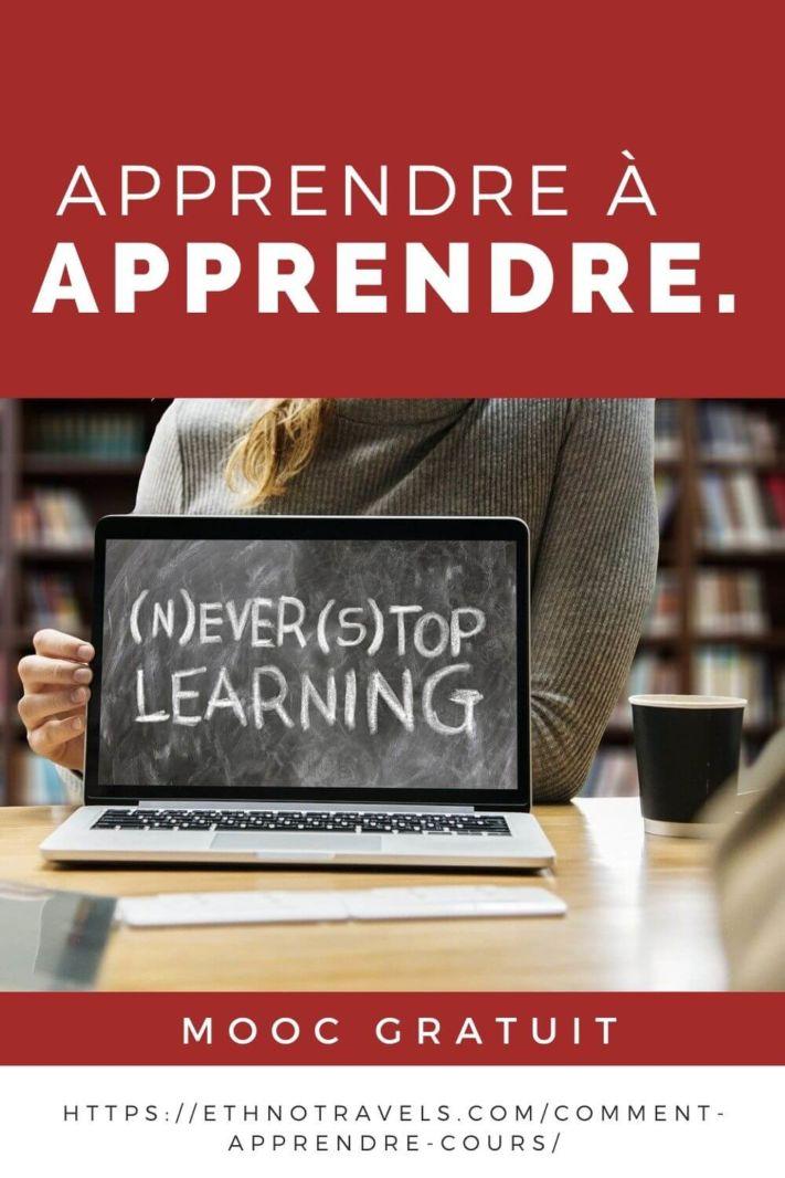 Mooc gratuit apprendre à apprendre