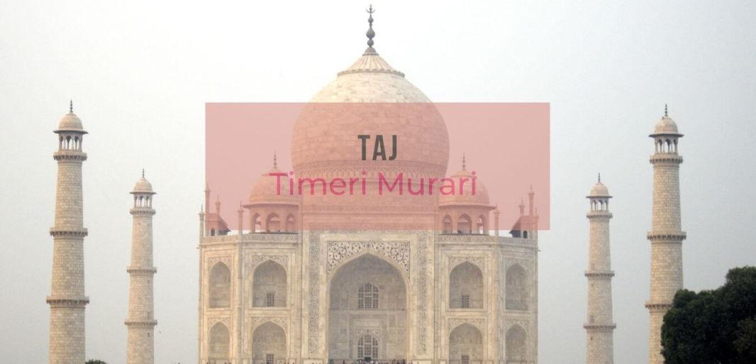 Critique du Livre sur le Taj Mahal de Timeri Murari