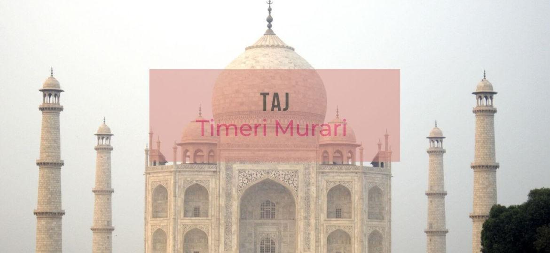 Le Taj Mahal d'Agra