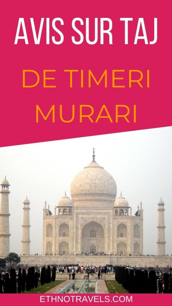 Avis sur Taj de Timeri Murari