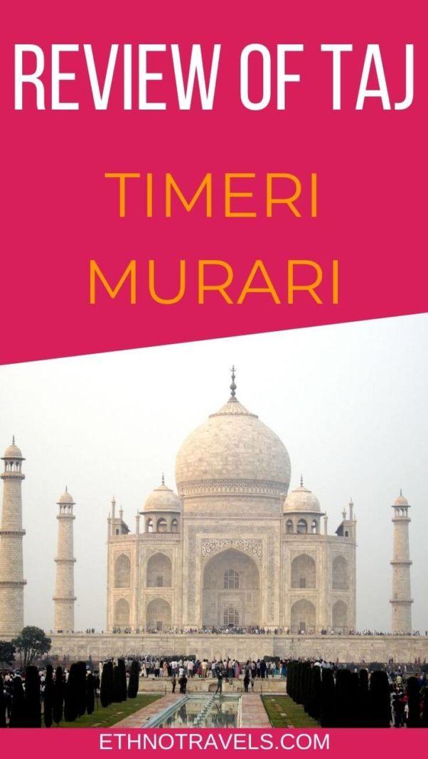 Review of Taj by Timeri N. Murari