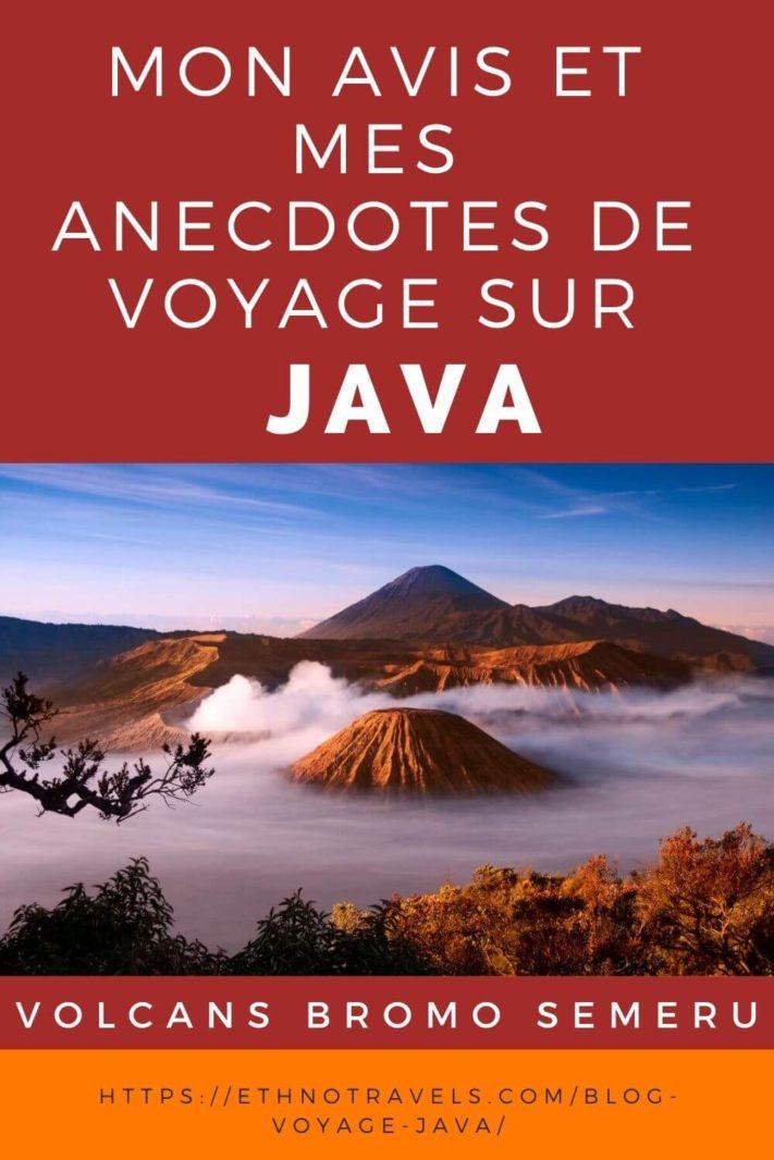 Avis et anecdotes de voyage sur Java