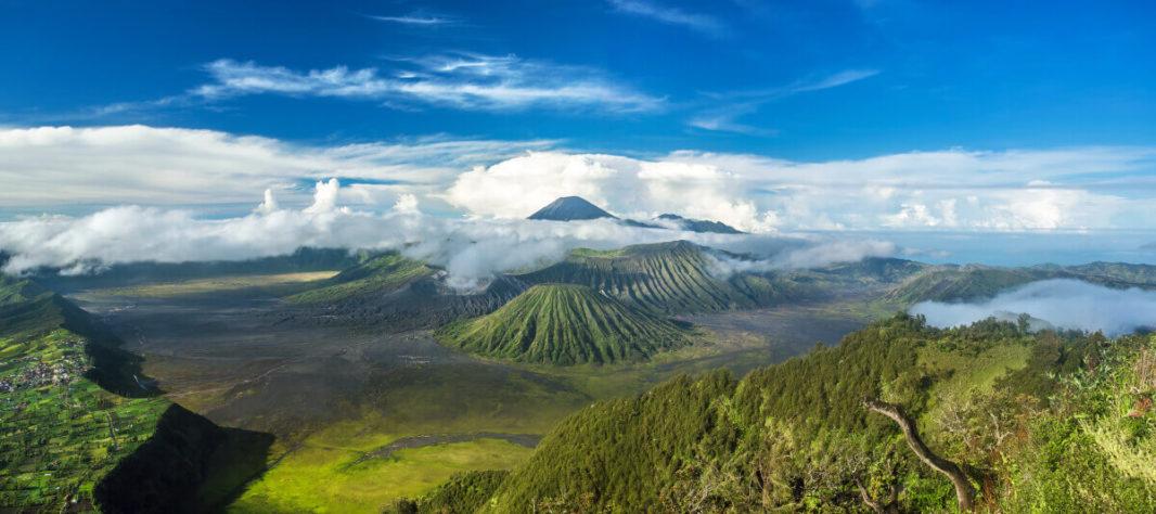 Caldeira du Bromo Cemeru Java Indonésie