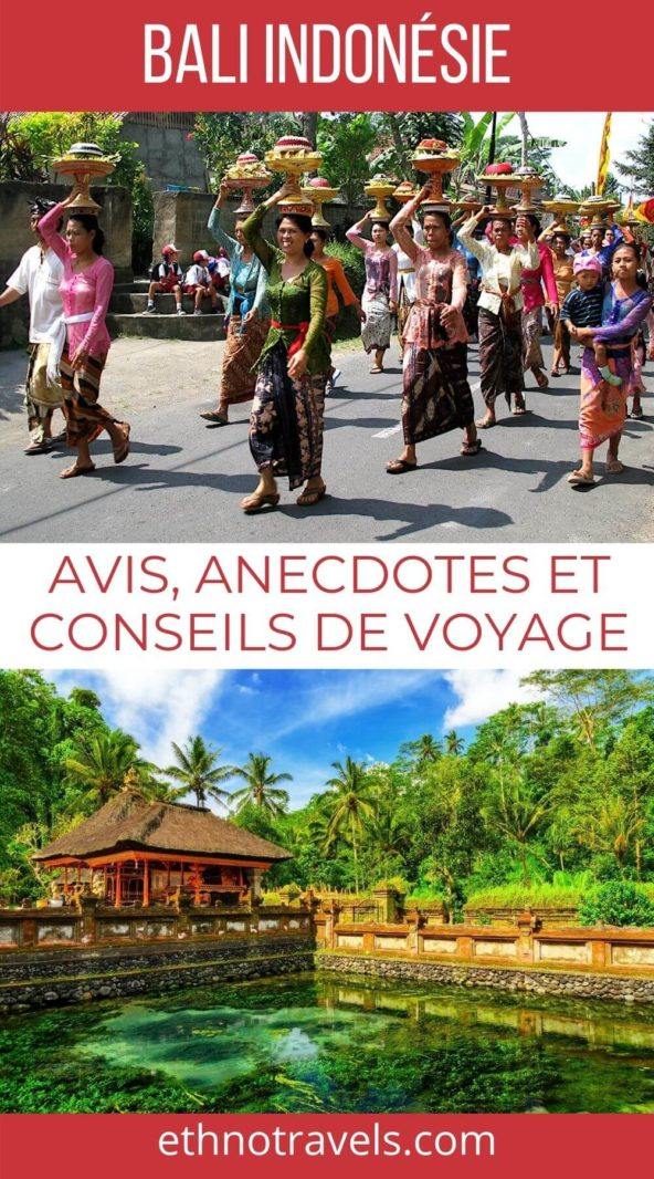 Visiter Bali Indonésie