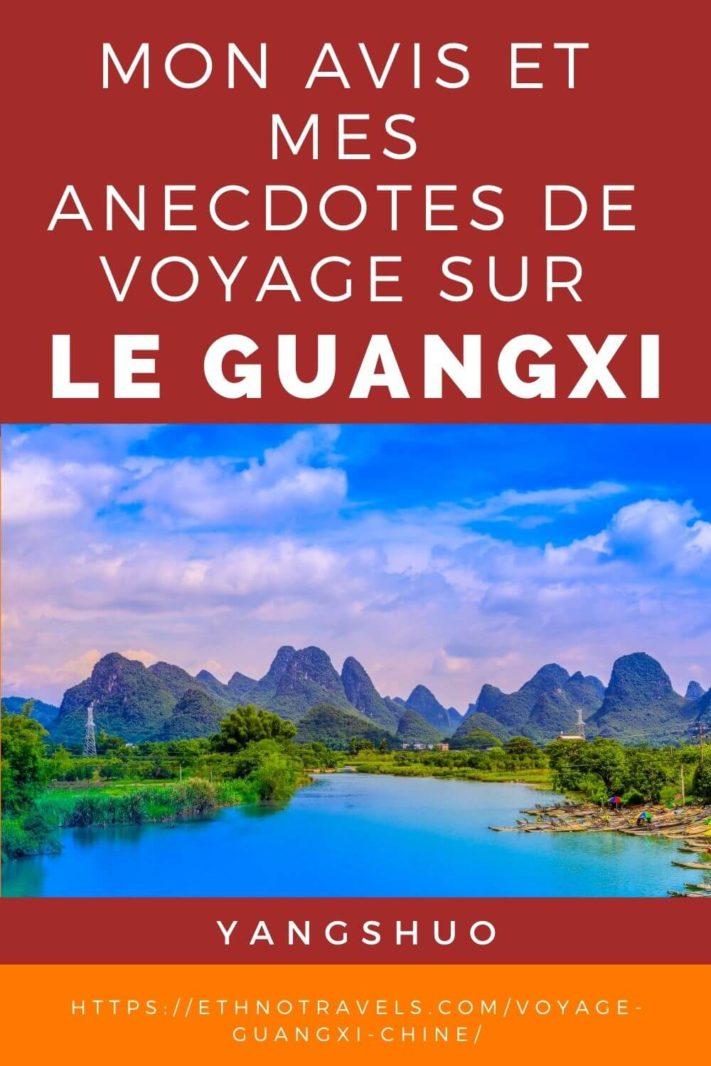 Pics karstiques entre Yangshuo et Xinping