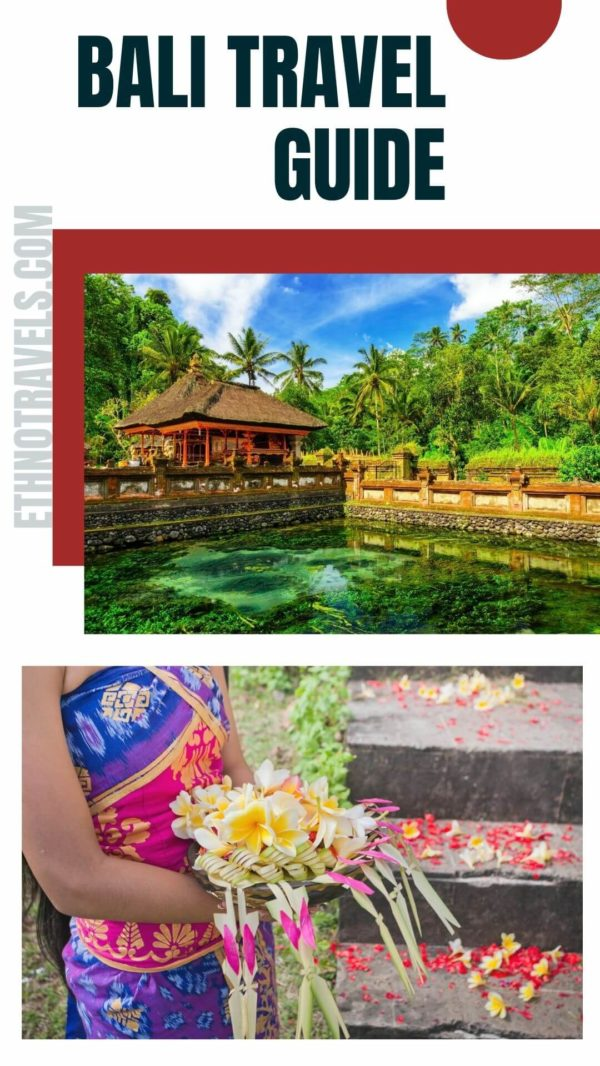 Tirta Empul Temple and Balinese offerings